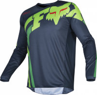 Мотоджерси FOX 180 Race Blue Green, L